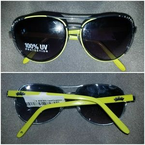 Juicy Couture Sunnies yellow